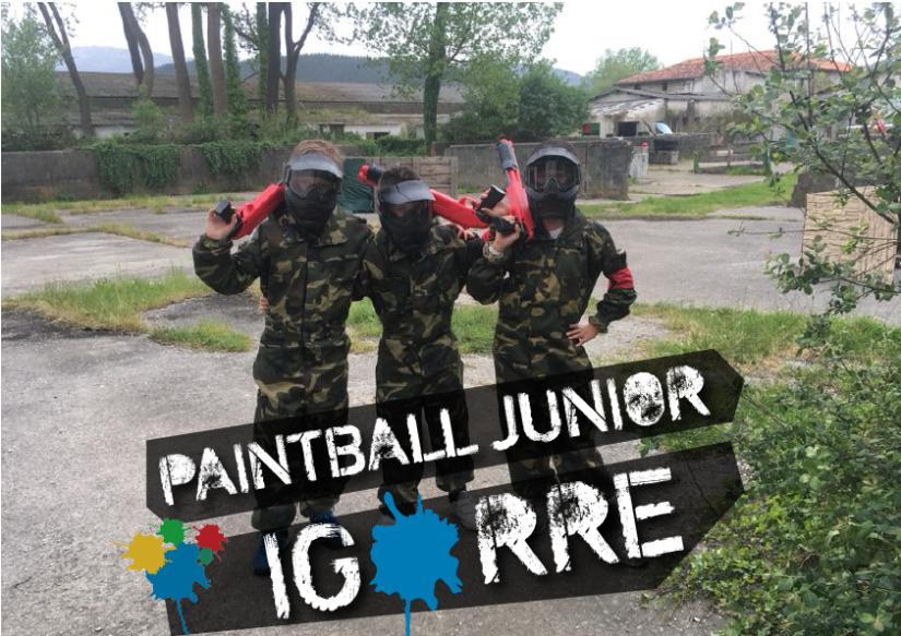 Paintball Junior Igorre